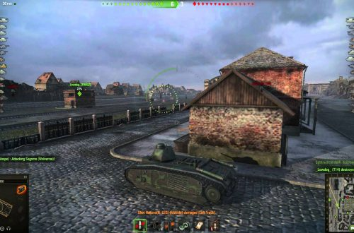 World of Tanks — гайд по B1 Char