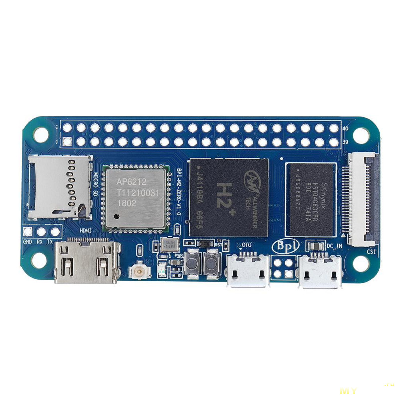 Мини PC Banana Pi BPI-M2 Zero H2+ за $19.29