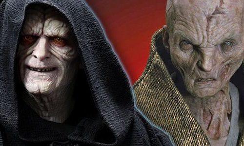 На связь Сноука и Палпатина намекали давно в «Звзедных войнах»