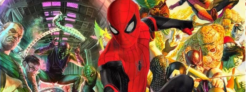 Зловещая шестерка в этом трейлере «Человека-паука 3»