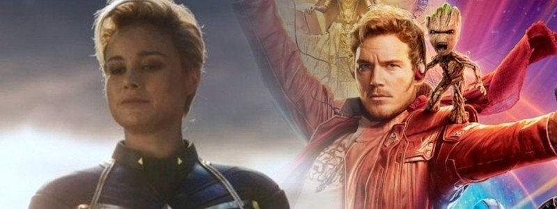 Раскрыто, почему Капитан Марвел не встречалась со Стражами галактики
