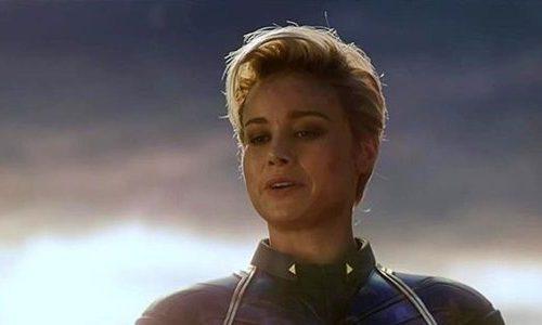 Капитан Марвел и другие героини в рекламе Disney+ к 8 марту