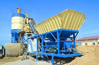 Мини-завод по изготовлению бетона: нюансы организации