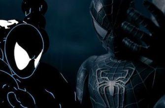 Раскрыт вырезанный черный костюм из «Человека-паука 3»