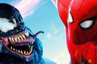 Веном и Человек-паук столкнулись на этом постере