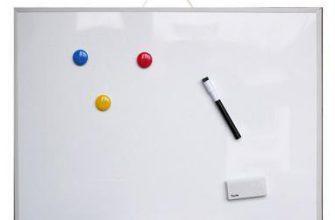 Как выбрать маркерно-магнитную доску для учебы и работы