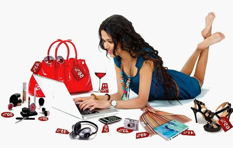 Покупка женской одежды в онлайн-магазинах