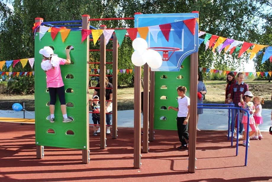 Польза детских площадок для ребят