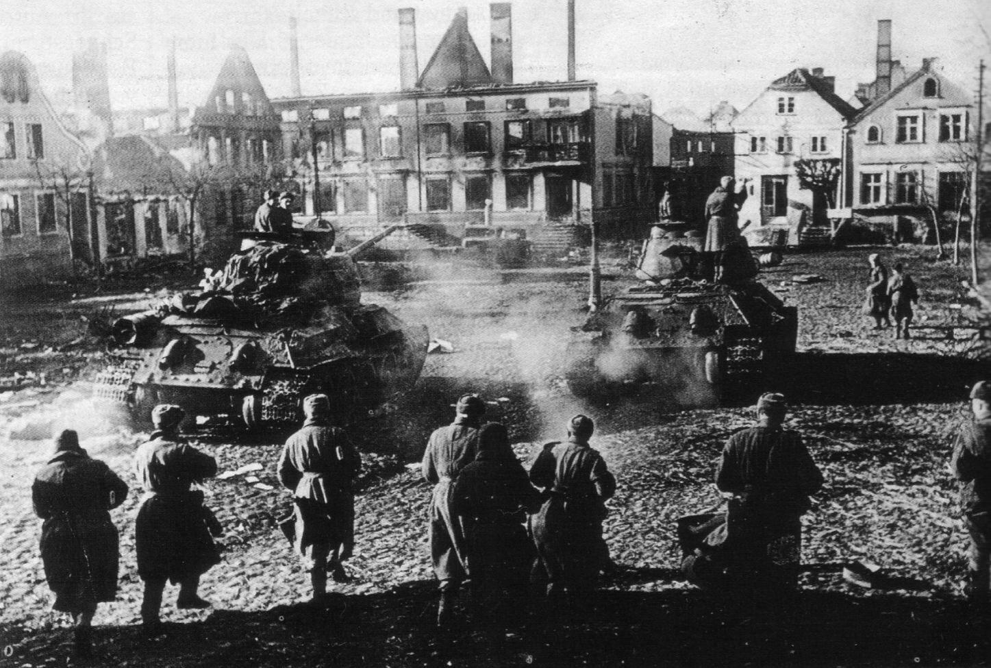 Поляки на фронтах Великой Отечественной войны. Бои на западе и севере Европы
